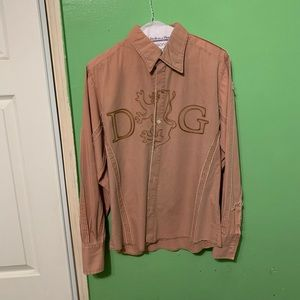 Rare Dolce & Cabbana button down shirt